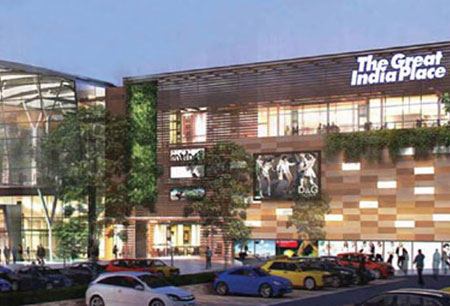 Great India Place Retail Project Dehradun