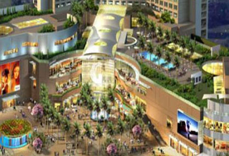 Gardens Galleria Retail Project Noida