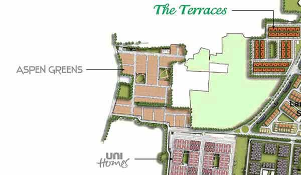 Unitech Aspen Greens Master Plan
