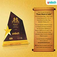 Unitech Power Brand of India Award