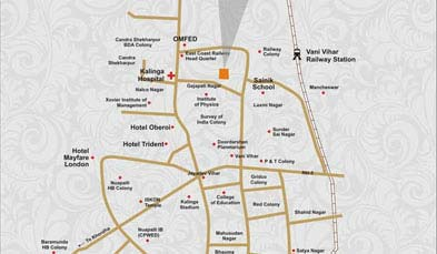 Unitech BBSR1 Location Map
