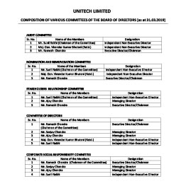Investor Relations - Insider Trading Policy - Unitech Group