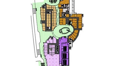 Unitech Downtown Retail Kay Plan
