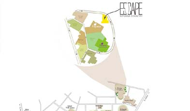 Unitech Escape Location Map