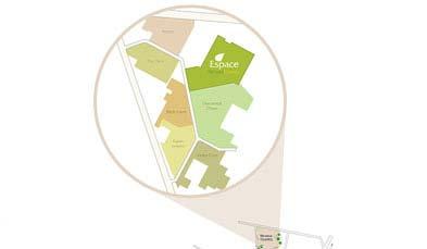 Unitech Espace Location Map