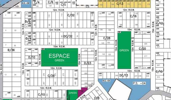 Espace, Master Plan