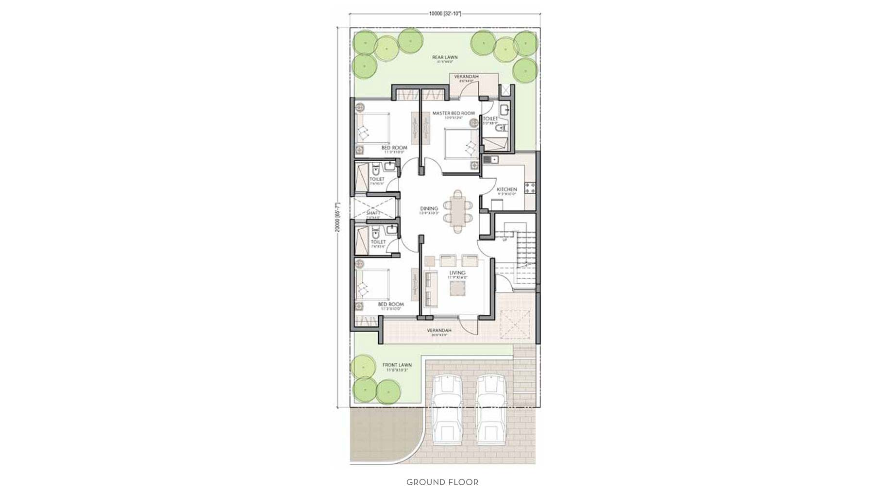 100 200 square yards house plan house plan for 1200 for 200 yards house design