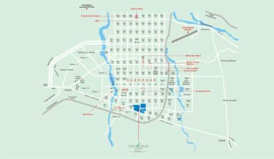 Unitech Executive Floors Location Map