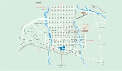 Unitech Executive Floors Location Map