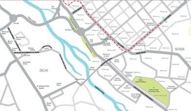 Unitech Exquisite Location Map
