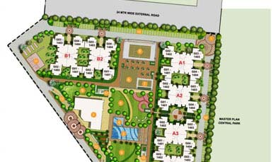 Unitech Exquisite Master Plan