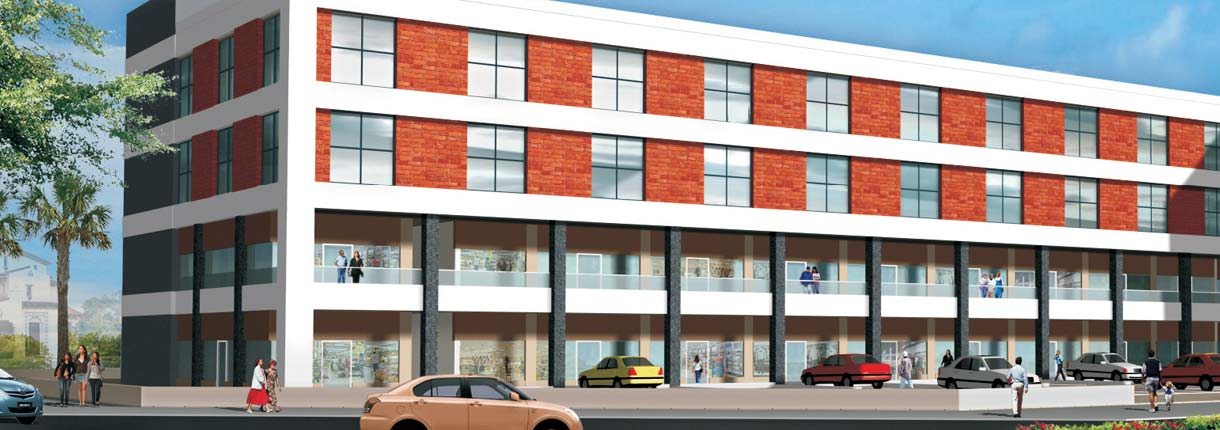 Gardens Galleria Retail Projects In Mohali Unitech Group