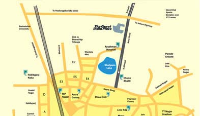 Unitech GIP Location Map
