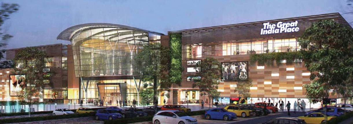 great india place retail projects in dehradun unitech group