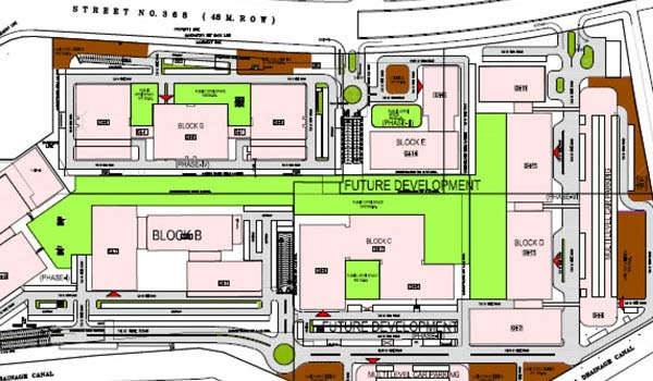 Unitech Infospace Master Plan