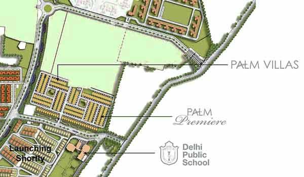 Unitech Palm Villas Master Plan