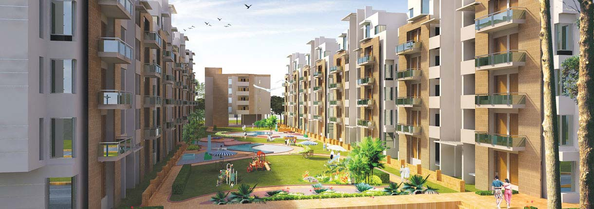 South City Gardens Residential Apartments In Lucknow Unitech Group