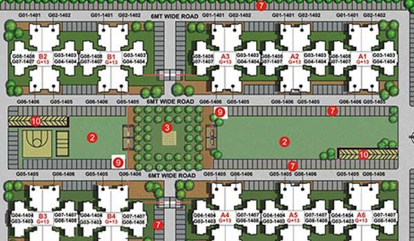 Unitech Unihomes 3 Kay Plan