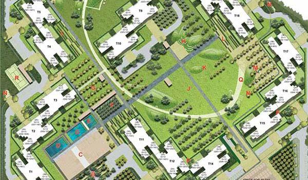 Unitech Habitat Master Plan