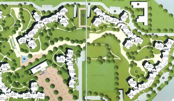 Unitech Close North Key Plan