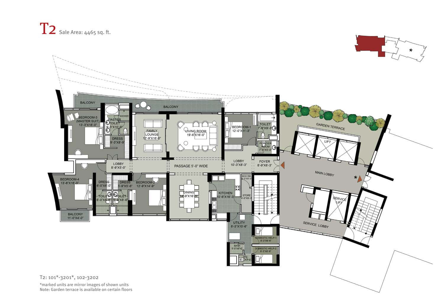 Floor Plan-4465 sq.ft.