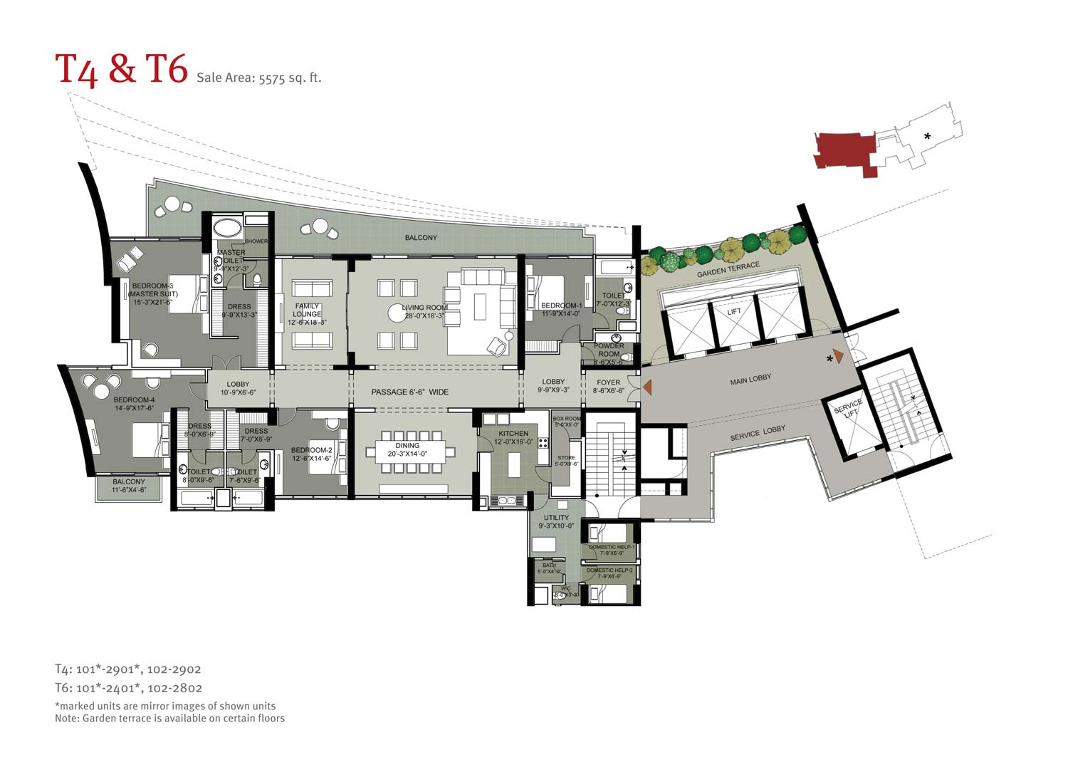 Floor Plan-5575 sq.ft.
