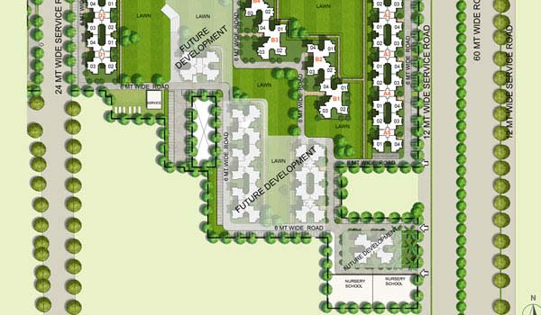 Unitech South Park Key Plan