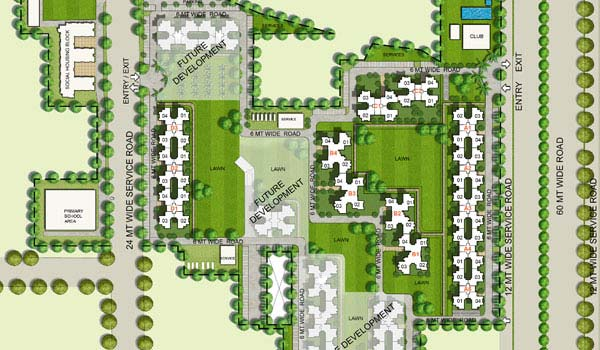 Unitech South Park Master Plan