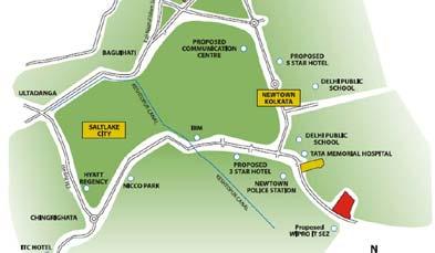Unitech Vistas Location Map